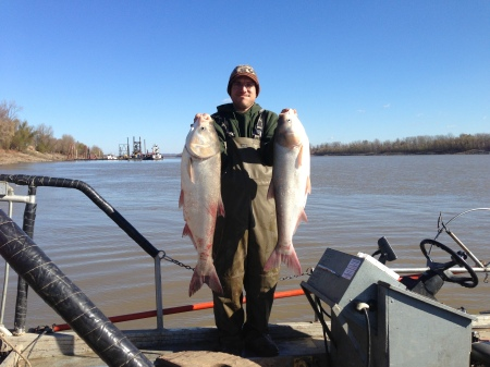 quinton phelps hols asian carp