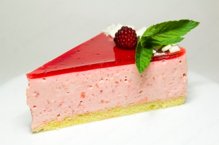 wineberry bavarian slice